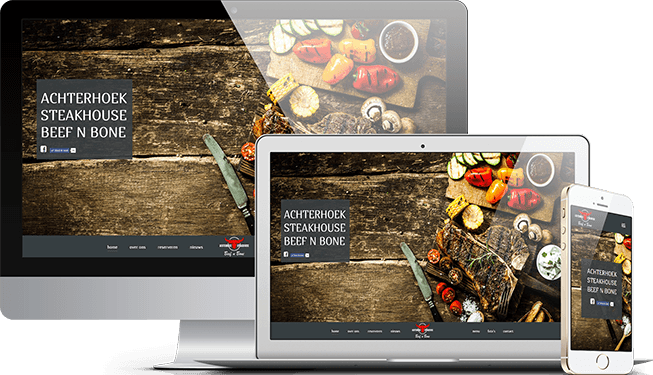 Website Achterhoek Steakhouse Beef n Bone