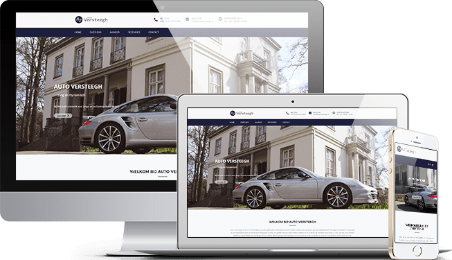 Website Auto Versteegh