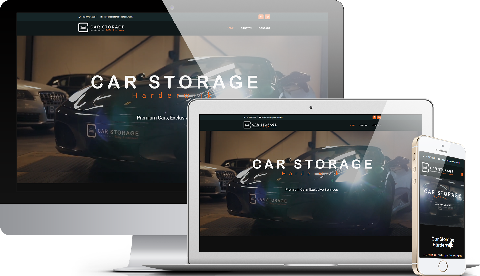 Website Car storage Harderwijk