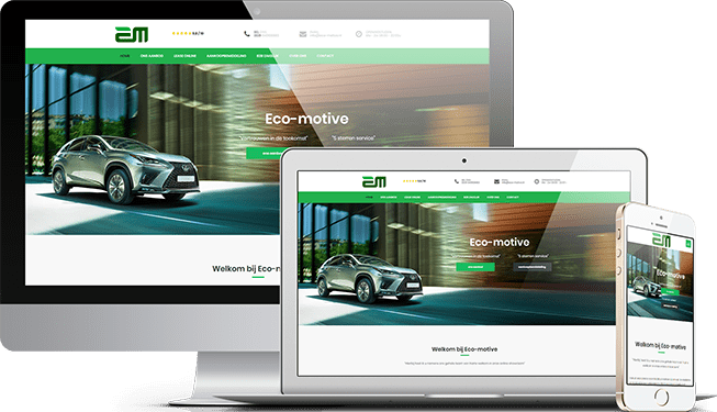 Website Eco-Motive