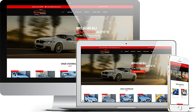 Website Maaskant Auto's