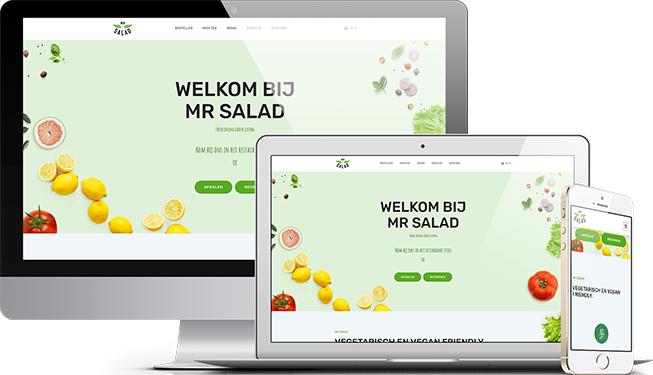 Website Mr. Salad